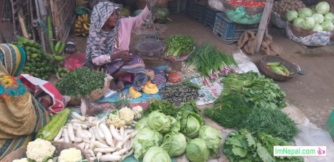street vegetable shopper old aged female