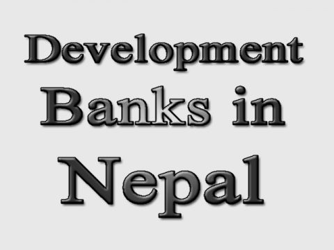 """Name list of All the """"Class B' Development Banks in Nepal"""