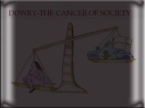 the dowry system in the society of Nepal and India