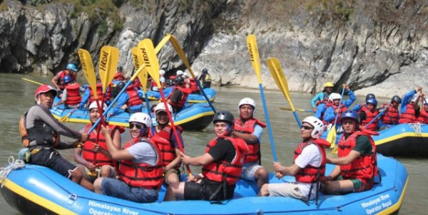 Rafting in Nepal – Nepal's Rivers for White Water Rafting