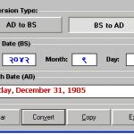 Nepali To English: Nepali Date Converter: English to Nepali