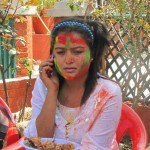 Romantic Holi SMS for Husband in Nepali Language