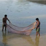 "Fishing in Nepal river ""Fishing Tours in Nepal"""