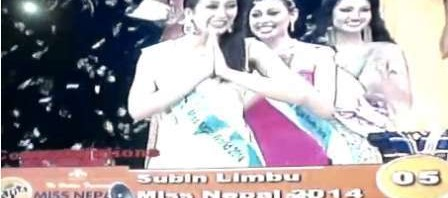 Miss Nepal 2014 Subin Limbu Photo