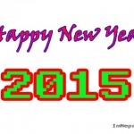 2015 New Year Greeting Cards for Facebook Friends