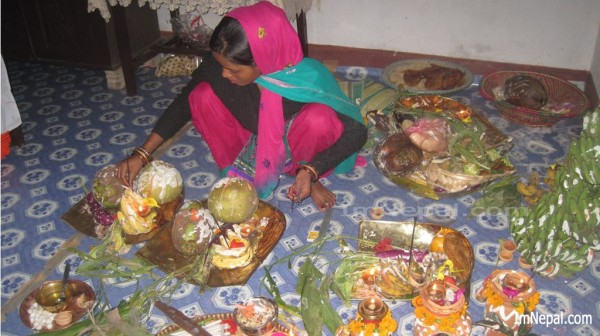 Chhath Puja Preparation