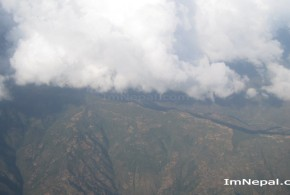 Fog in Nepali Sky : Photo of Nepal Covered by Cloud and Fog