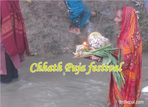 great wallpaper of Happy Chhath Puja Greeting Cards