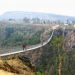 Highest, Tallest, Longest Suspension Bridge in Nepal – Kushma