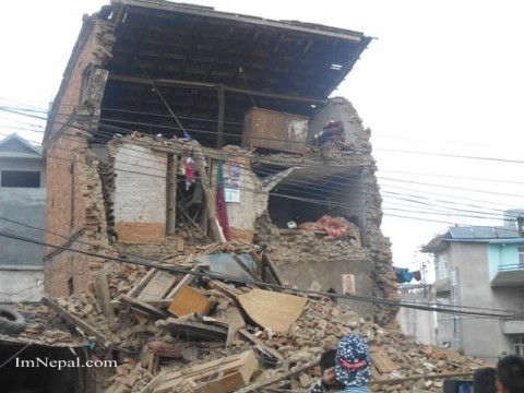 Earthquake in Nepal 2015 : Oh My God … How Disaster…….