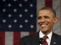 Barack Obama American President Photo
