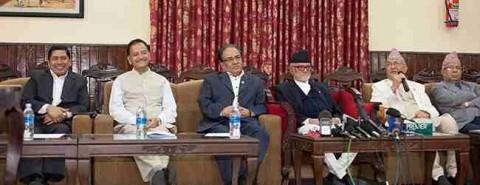 मधेसी र थारुलाई प्रमुख तीन दलको सम्बोधनः प्रदेशको सीमांकन हेरफेर हुन सक्छ Nepal Sarkar States Border