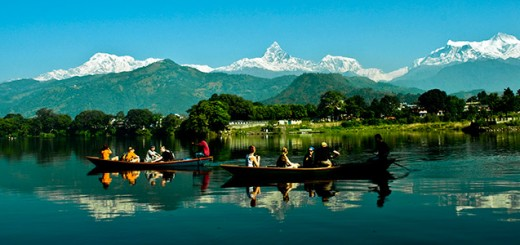 beautiful-places-visit-tourist-spot-fewa-lake pokhara-nepal-picture
