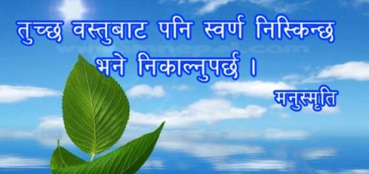 nepali motivational inspirational good best famous quotes in nepali words language by manusmriti