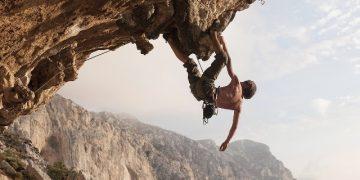 Muscular endurance rock climbing