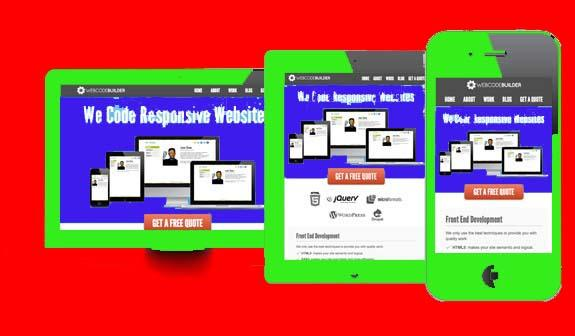 Responsive Site website mobile