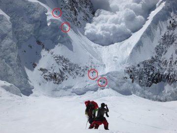 Avalanches annapurna