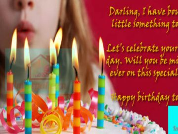 Birthday Wishes for Girlfriend in English