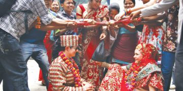 US marriage in nepal