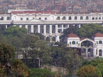 politics center of Kathmandu Nepal