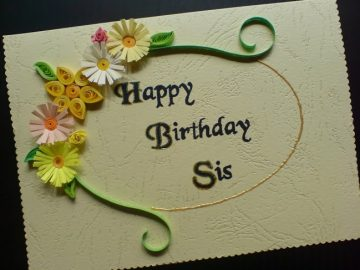 Happy Birthday SMS, Wishes, Cards Messages to Your Lovely Sister in English