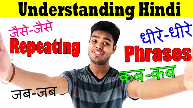 Hindi learning class