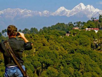 Nagarkot near kathmandu Nepal