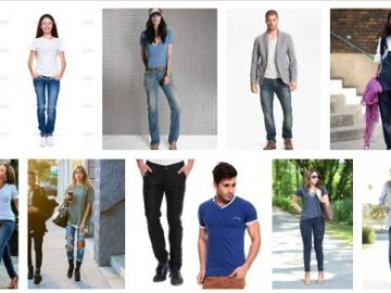 T- shirts and jeans in Nepal