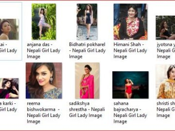 beautiful Nepalese girls