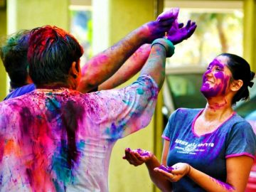holi festival celebration colurs
