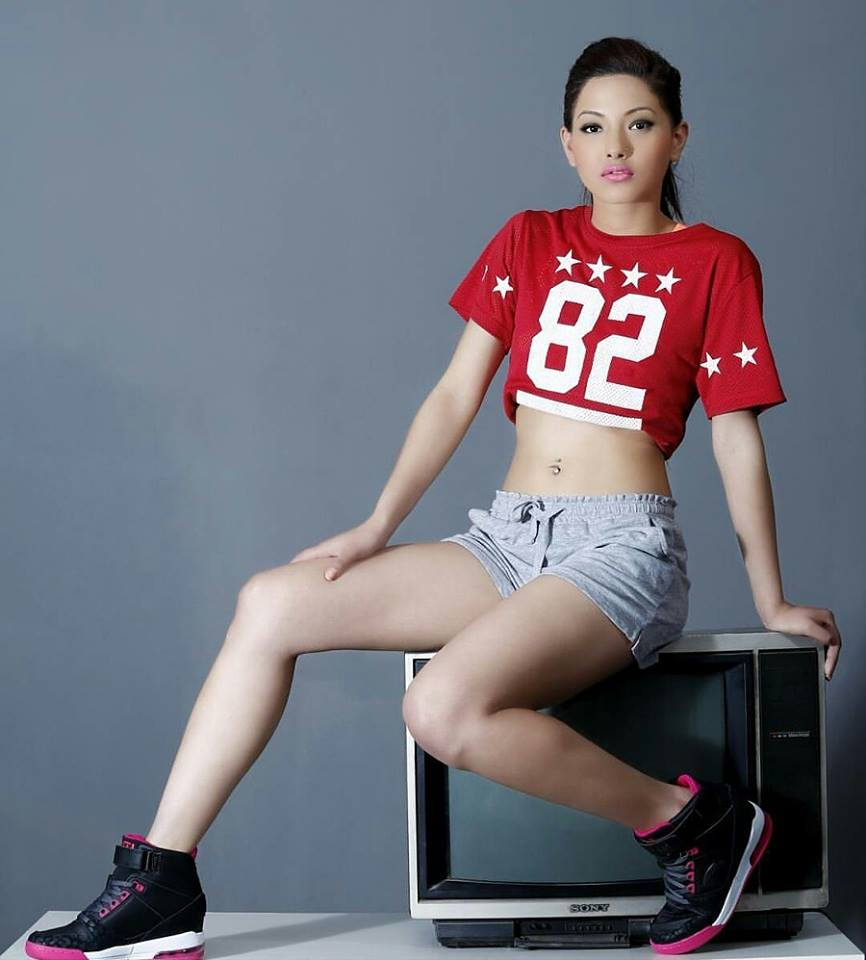 nepali model actress girl samragyee rl shah