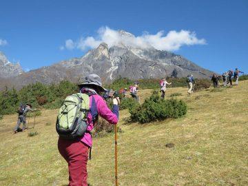 wonderful trekking in Nepal