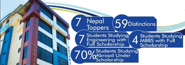 orient college in Nepal
