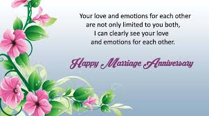 40 Marriage Wedding Anniversary Wishes for Friends Facebook in English