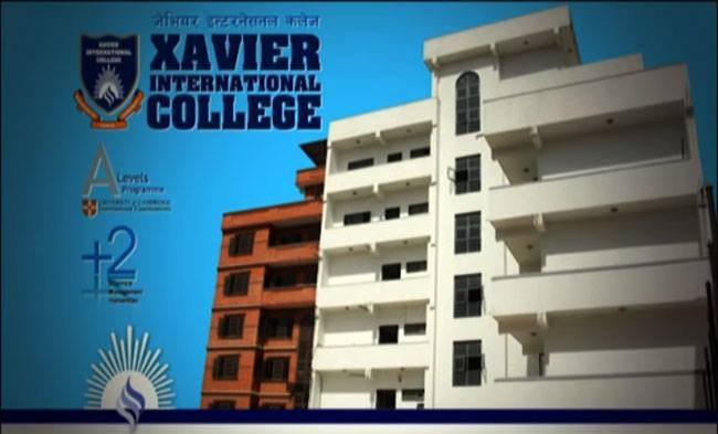 xavier international college in Nepal