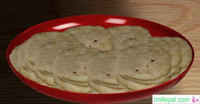 chini roti Nepali recipes