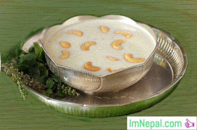 Rava Kheer sweet recipe Foods Dish Indian