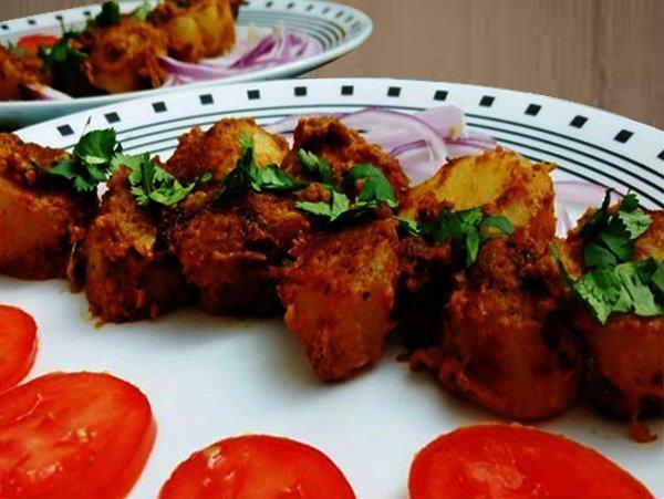 TANDOORI ALOO Recipes Dish Foods