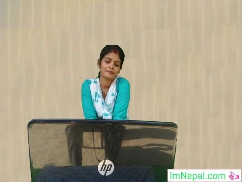 Nepali girl female Webcam chatting image