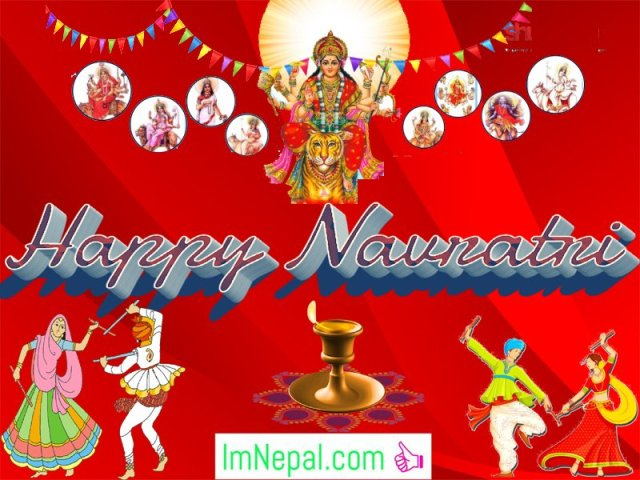 Happy Shubha Navratri Navaratri Festival Hindu HD Wallpapers Greeting Cards Quotes Images pictures Wishe messages Dussehra
