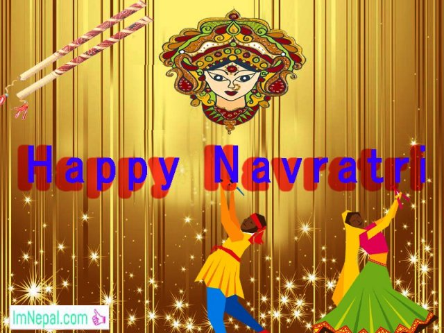 Happy Shubha Navratri Navaratri Festival Hindu Wallpapers Greeting Cards Quotes Images pictures Wishes Text messages