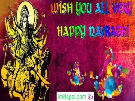 100 Happy Navratri Greeting Cards, Quotes, Wallpapers & Wishes Images Collection
