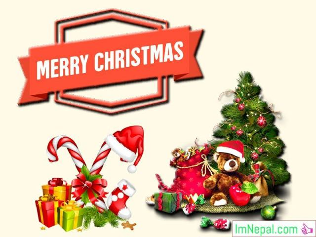 50 Merry Christmas Greetings Cards For Facebook Post - Staus, Wishes