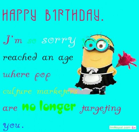 Funny Birthday Wishes And Messages sms quotes greeting cards images