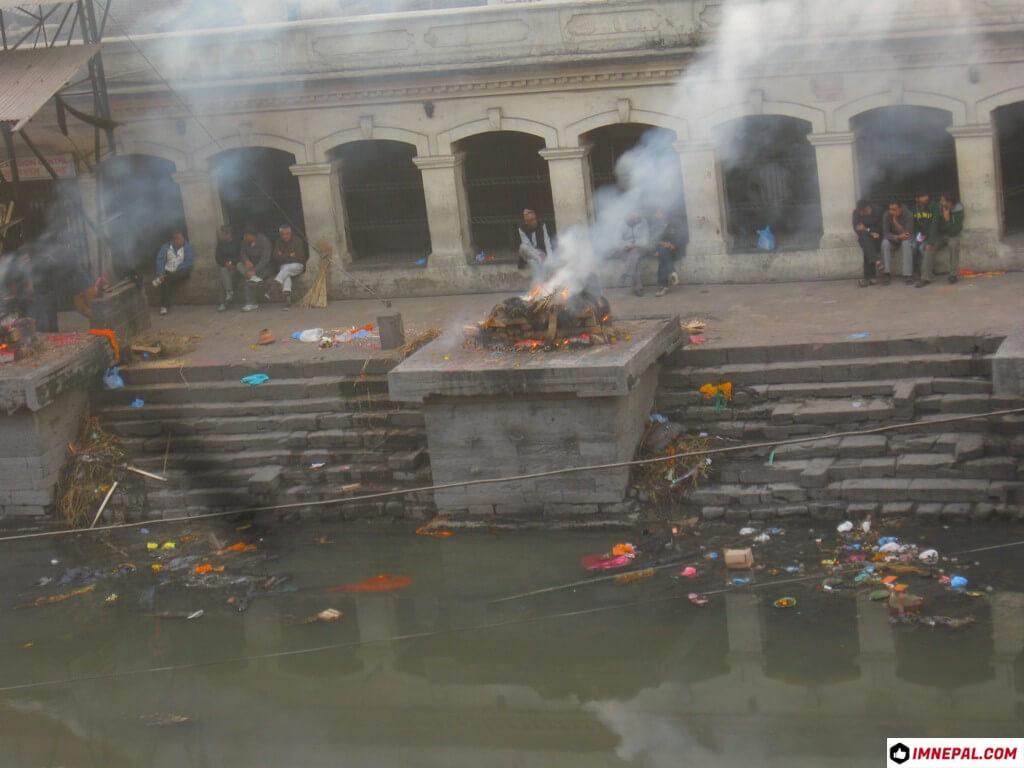 Aryaghat Pashupatinath Temple Mandir Kathmandu Nepal World Heritage Site Picture