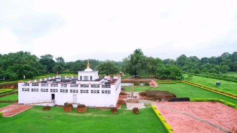 Maya Devi Temple in Lumbini, Nepal Birthplace Lord Buddha