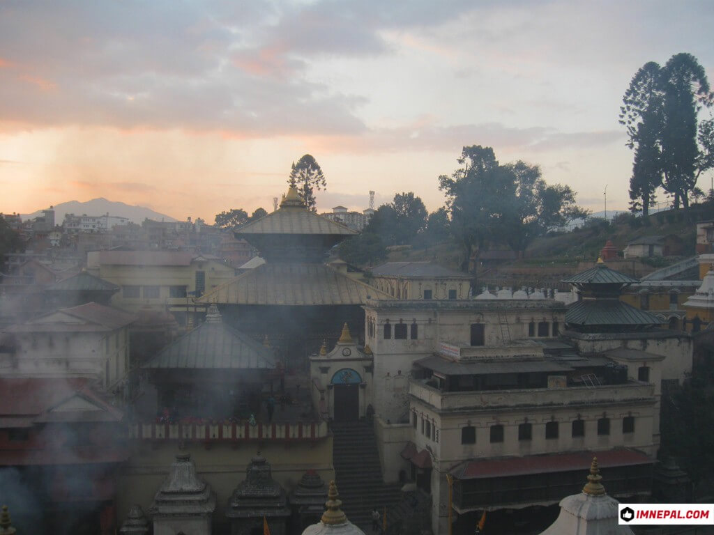 Pashupatinath Temple Mandir Lord Shiva Kathmandu Nepal World Heritage Sites Image