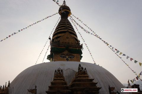 Swayambhunath Stupa Kathmandu Nepal Monkey Temple Buddhist Images Photos