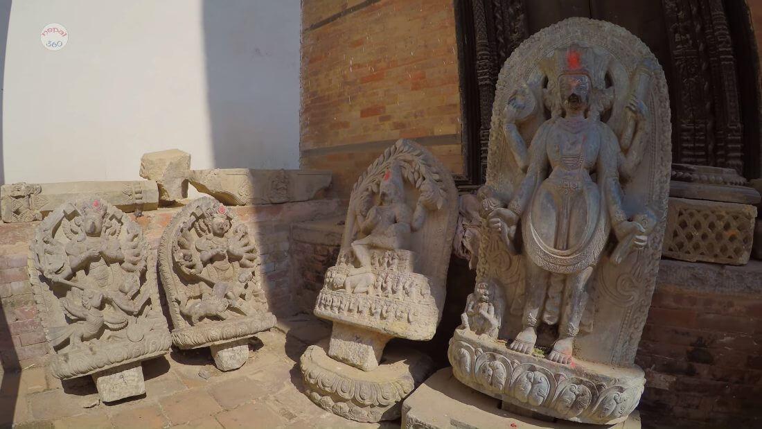 Arts in Stone Bhaktapur Durbar Square, Nepal