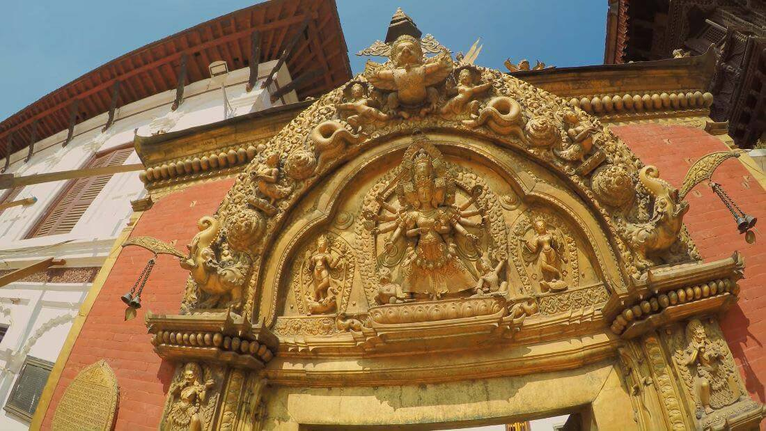 Goddess Metal Arts Bhaktapur Durbar Square, Nepal